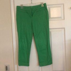 Kelly green capris